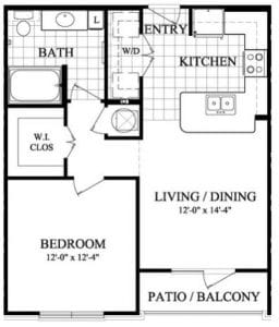 One bedroom Apartments in Sugar Land TX