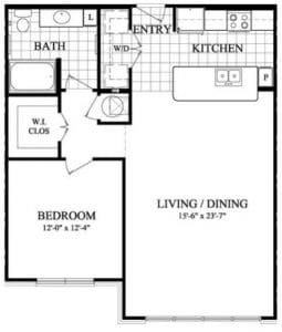 Two Bedroom Apartments in Sugar Land TX