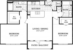 Two bedrrom Apartments in Sugarland TX