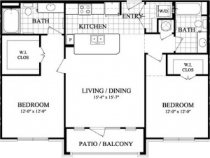 Two bedroom Apartments in Sugar Land, TX