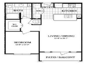 One Bedroom Apartment For Rent in Sugar Land. TX