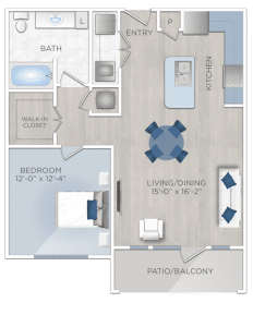 One bedroom Apartmentrs